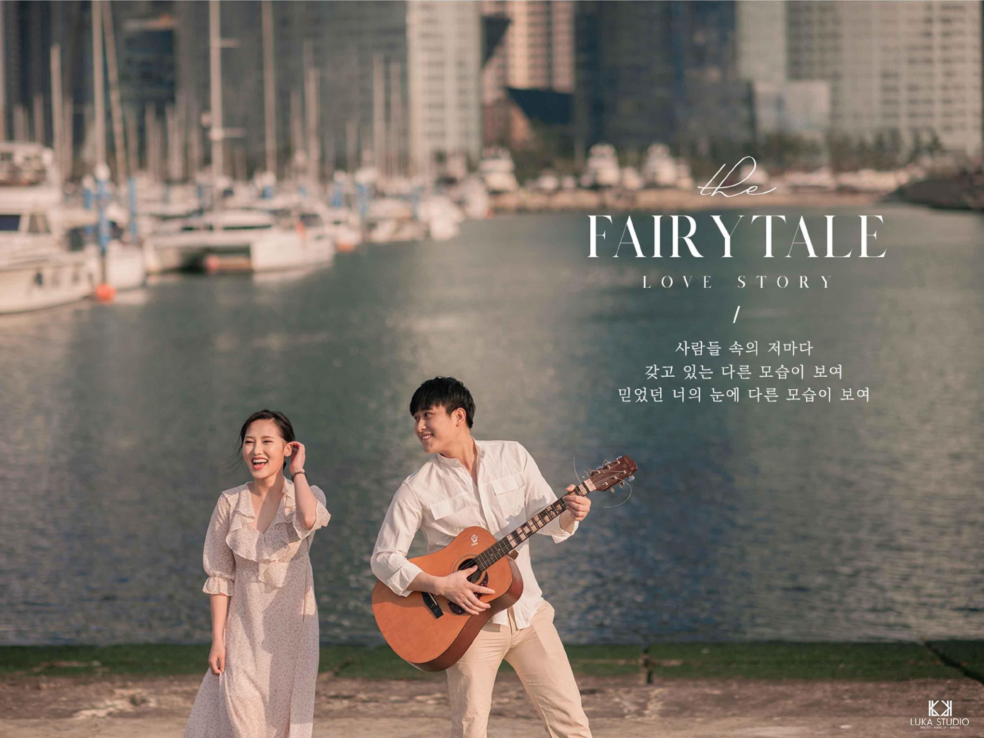 BUSAN – KOREA   The Fairytale Love Story   Chiến & My